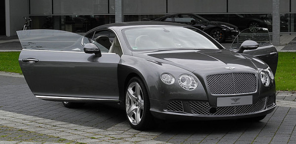 tley Continental GT Speed.
