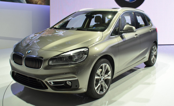 BMW 2 Series Active Tourer Женева 2014
